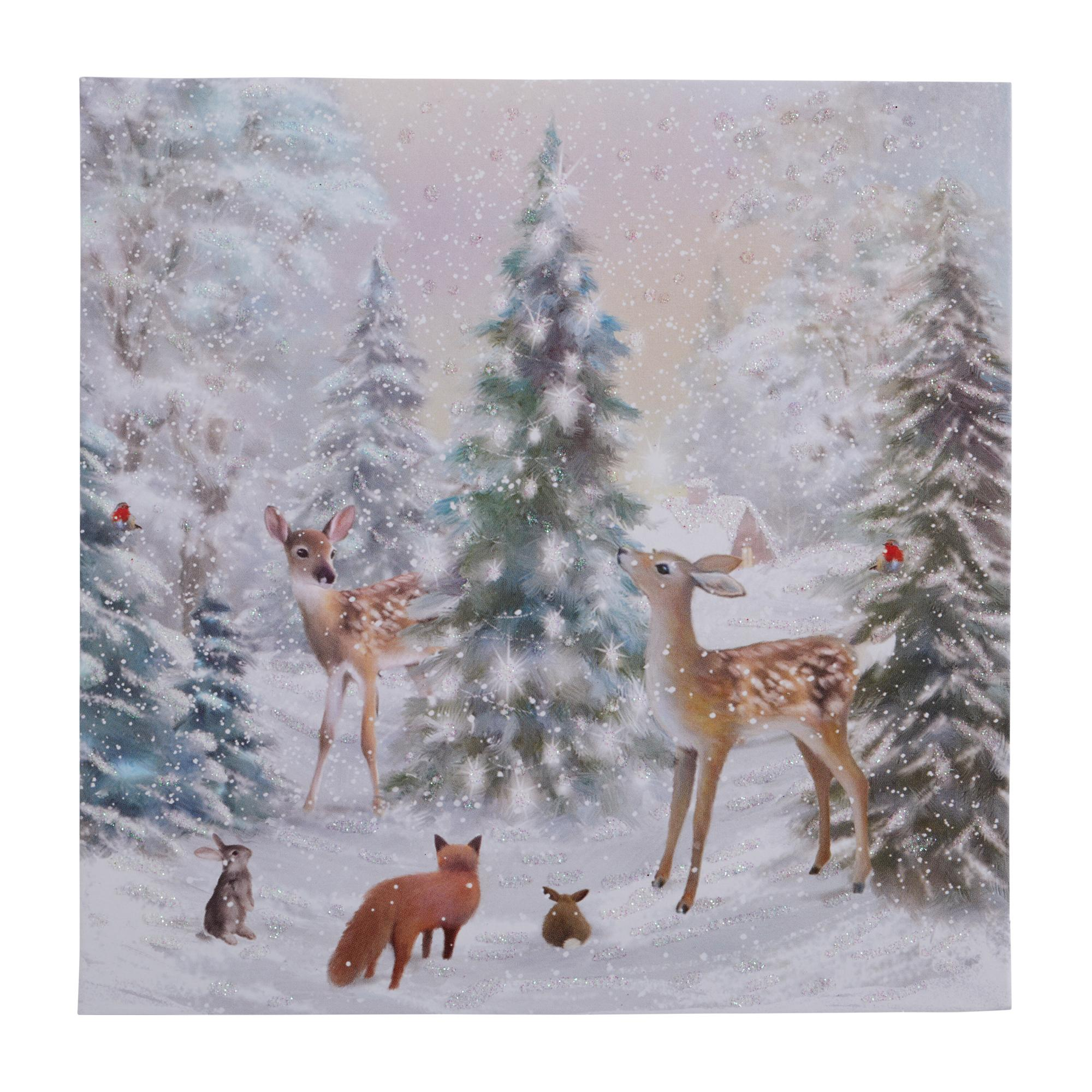 Winter Forest Christmas Cards Pack Of 10 Cancer