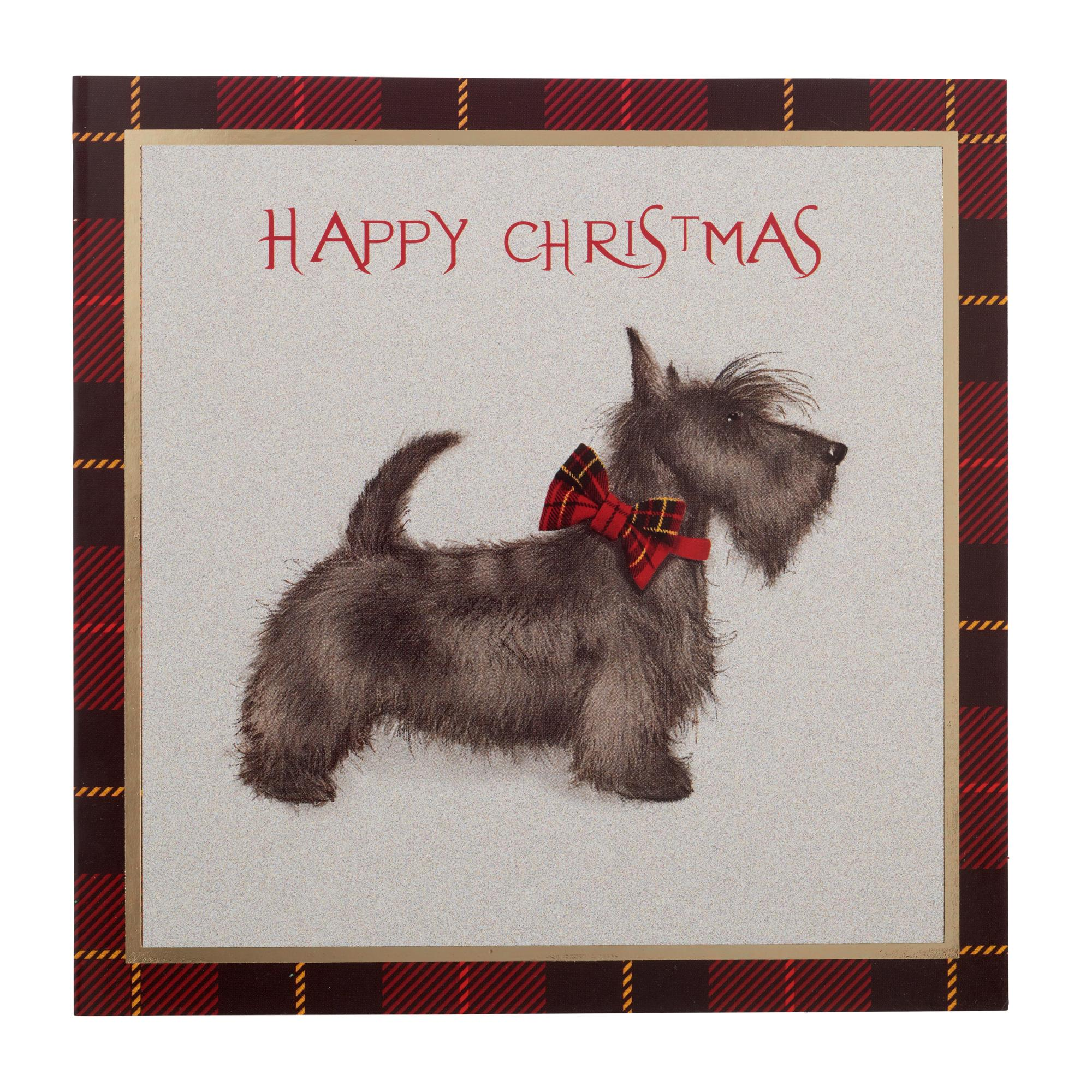 Statuesque Scottie Christmas Cards - Pack of 10 | Cancer Research UK ...