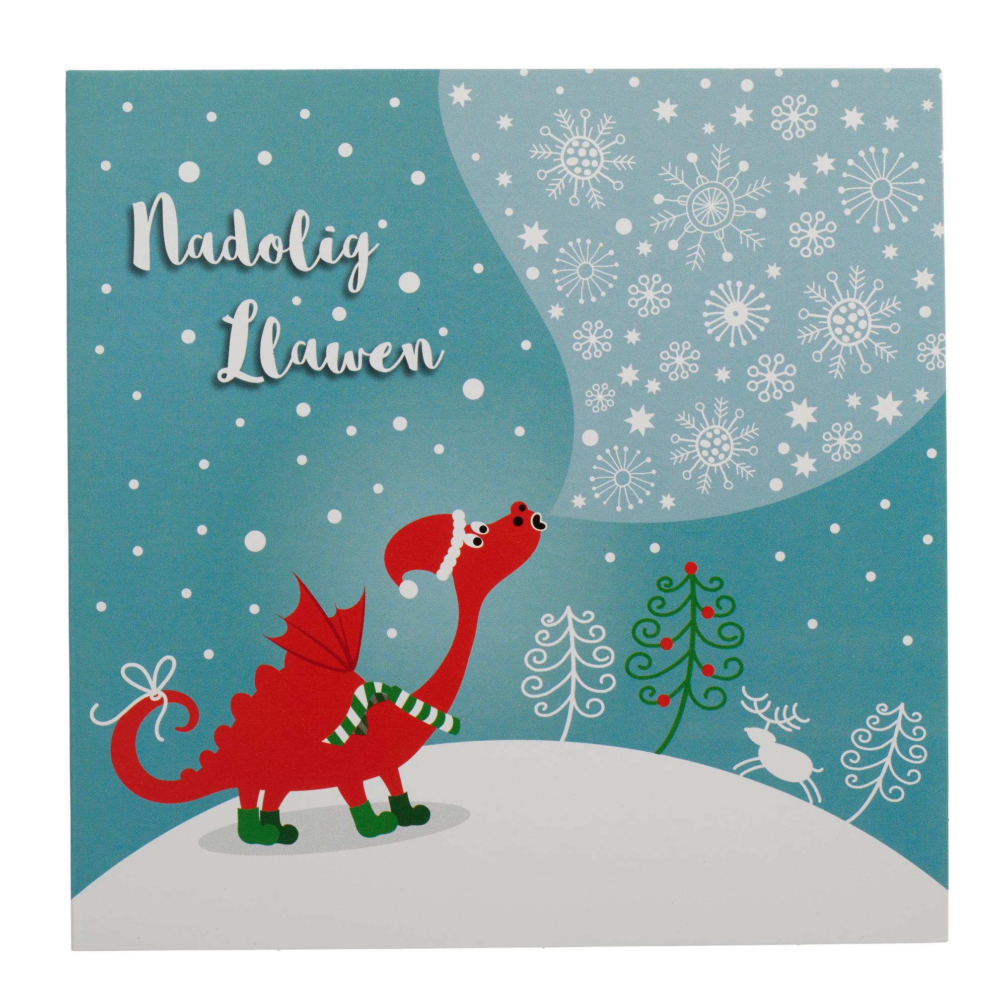 Winter dragon welsh christmas cards pack of 10 cancer research winter dragon welsh christmas cards pack of 10 m4hsunfo