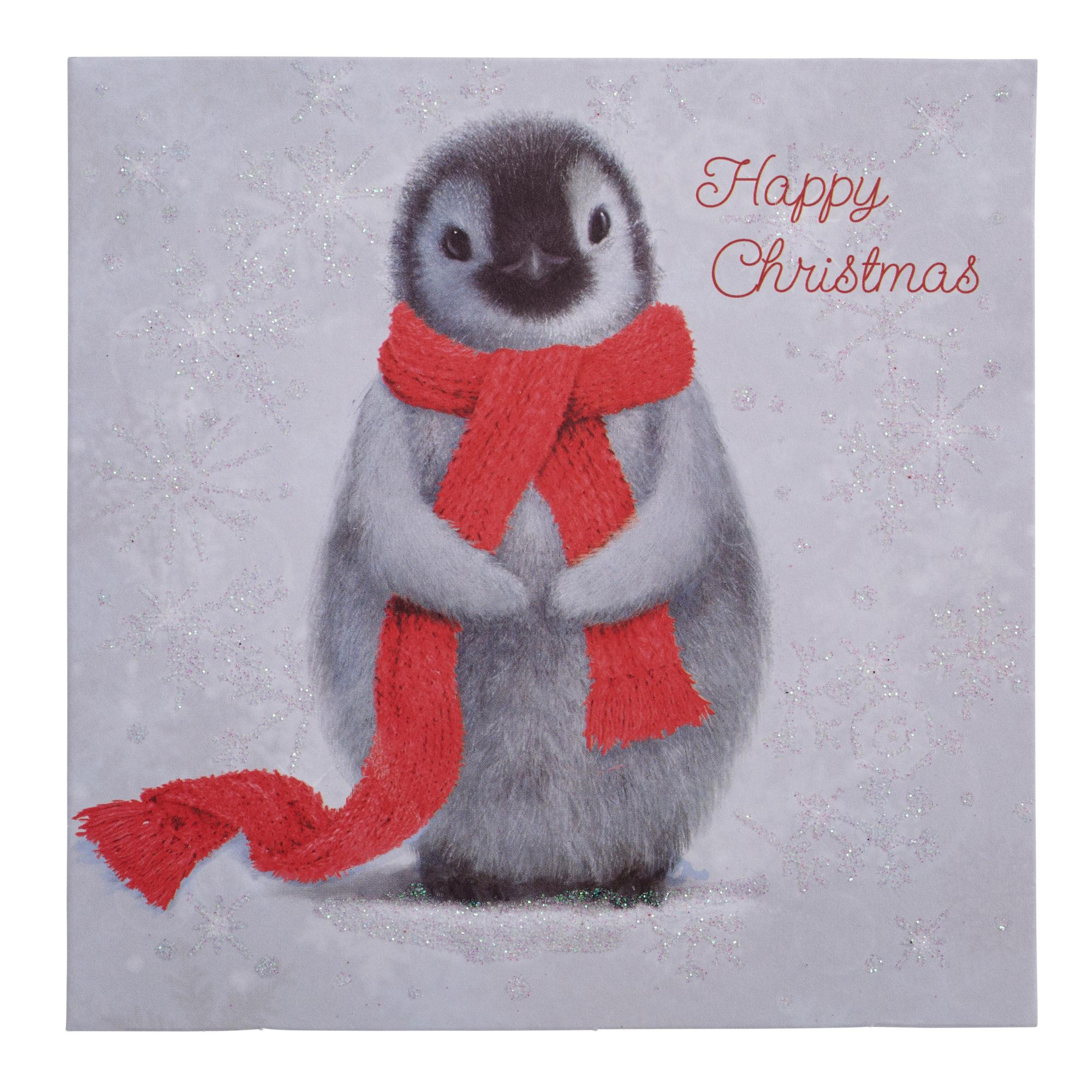 Winter Penguin Christmas Cards - Pack of 20 | Cancer Research UK ...