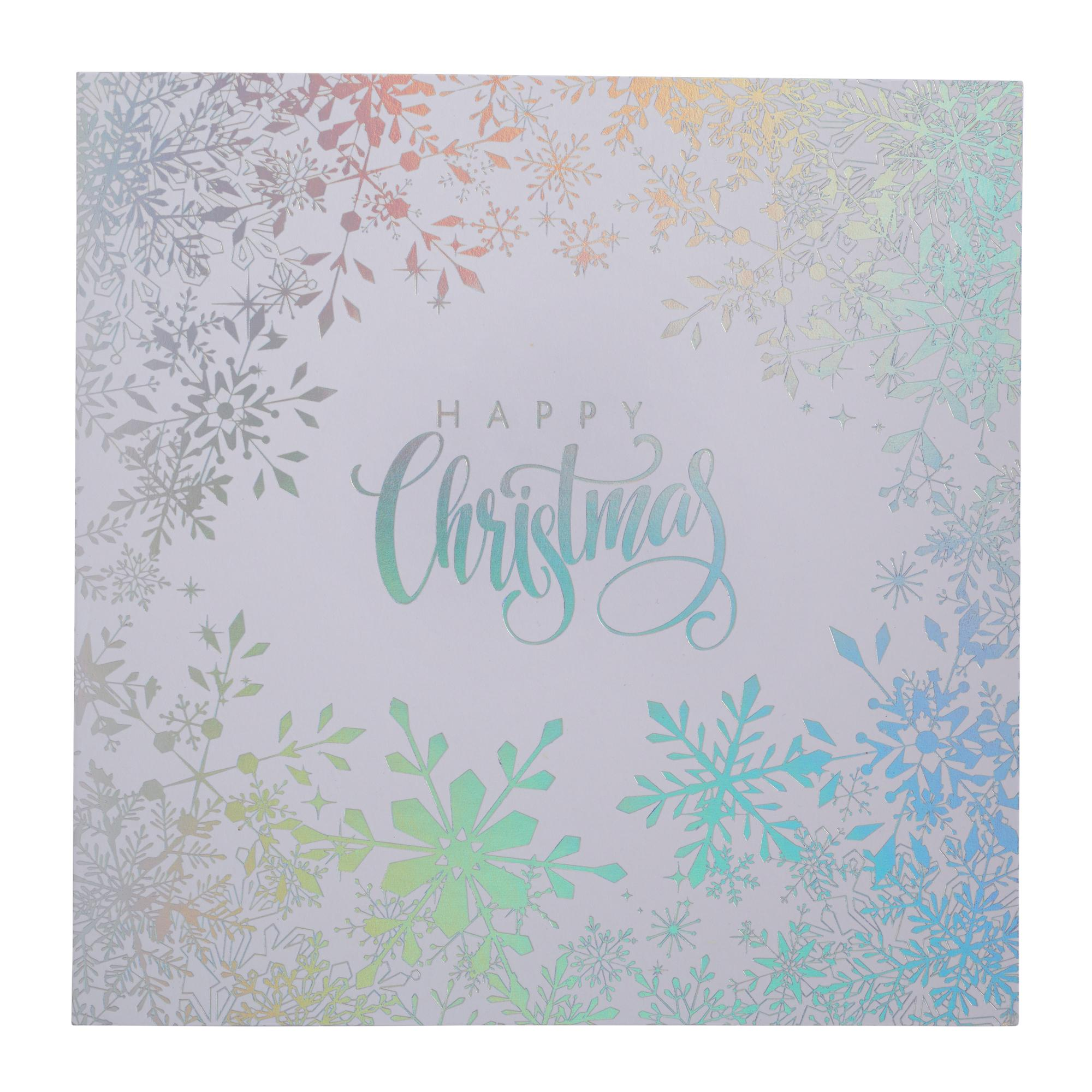 Stunning Silver Wishes Christmas Cards - Pack of 20 | Cancer ...