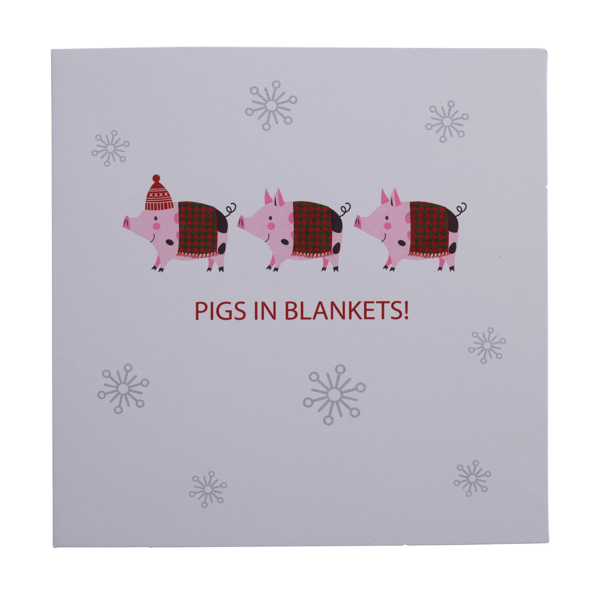 Pigs In Blankets Christmas Cards - Pack of 20   Cancer Research UK ...