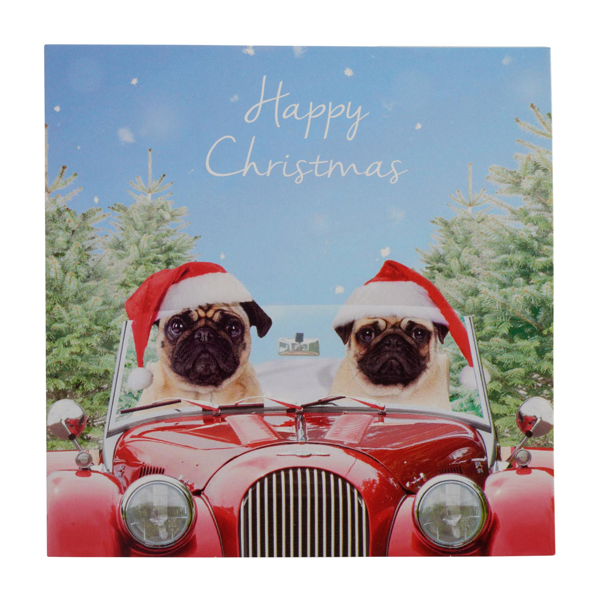 Pugs At Christmas Christmas Cards - Pack of 20  7f4f5145a13