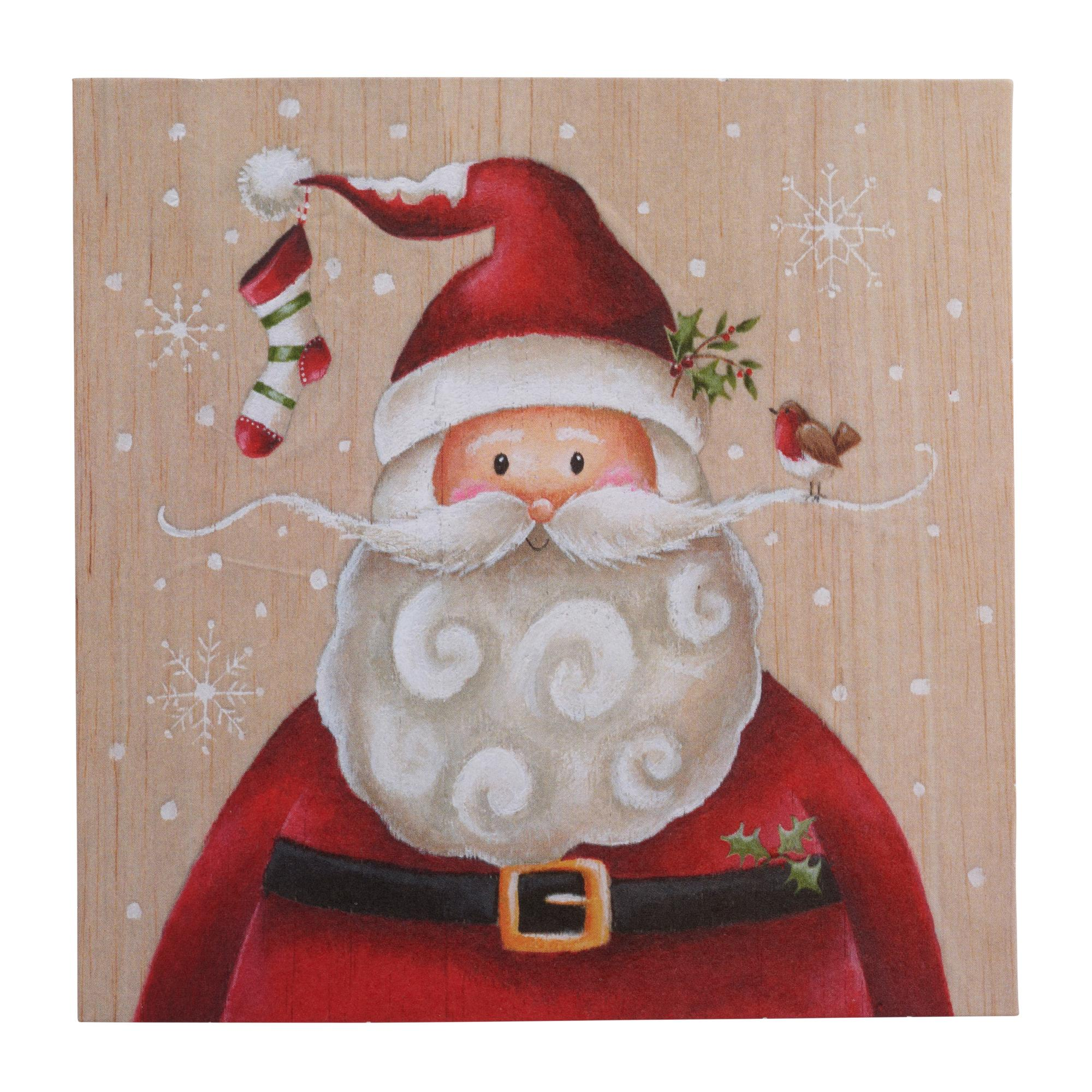 santa and friends christmas cards pack of 20