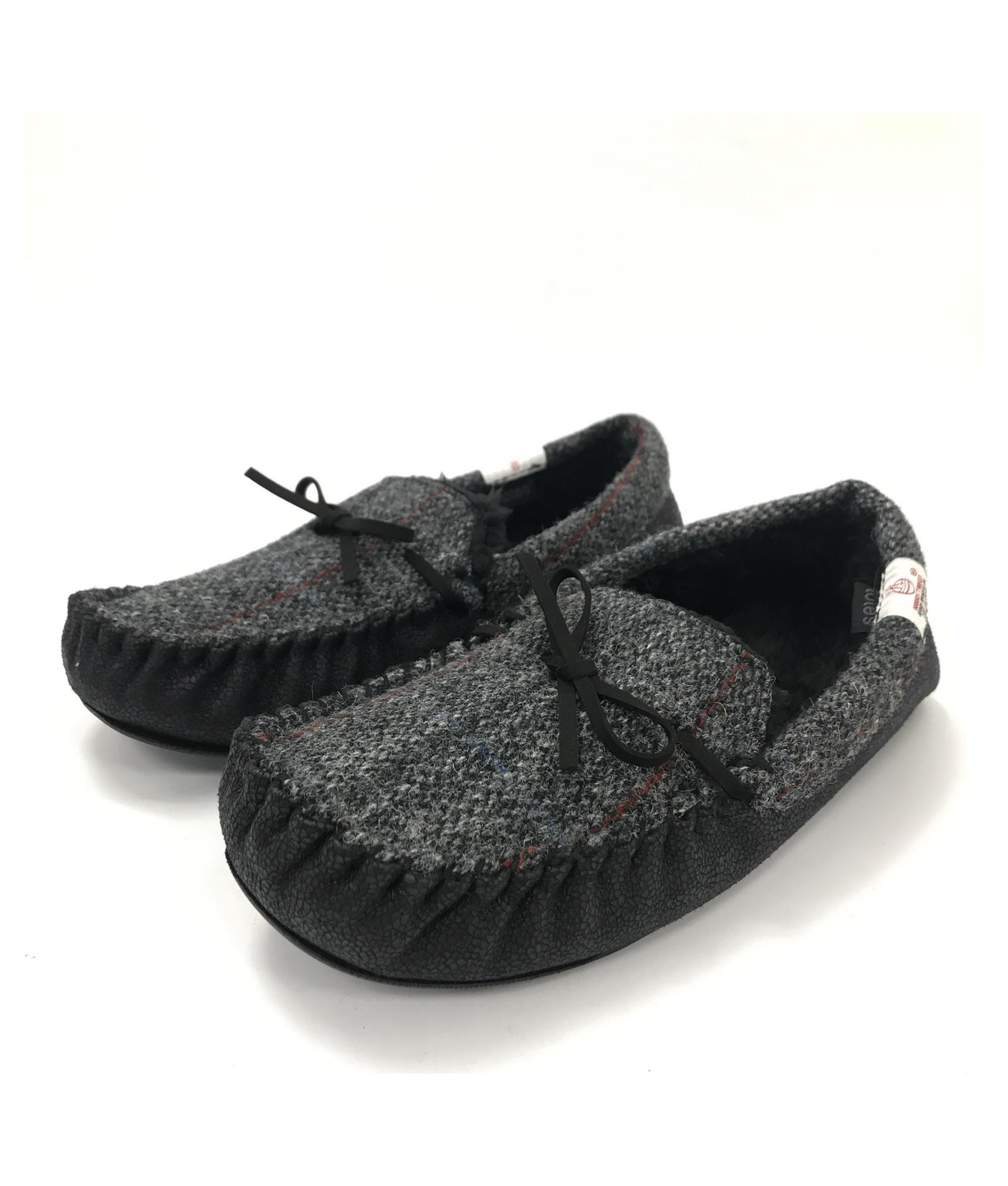 Totes Harris Tweed Moccasin Slippers