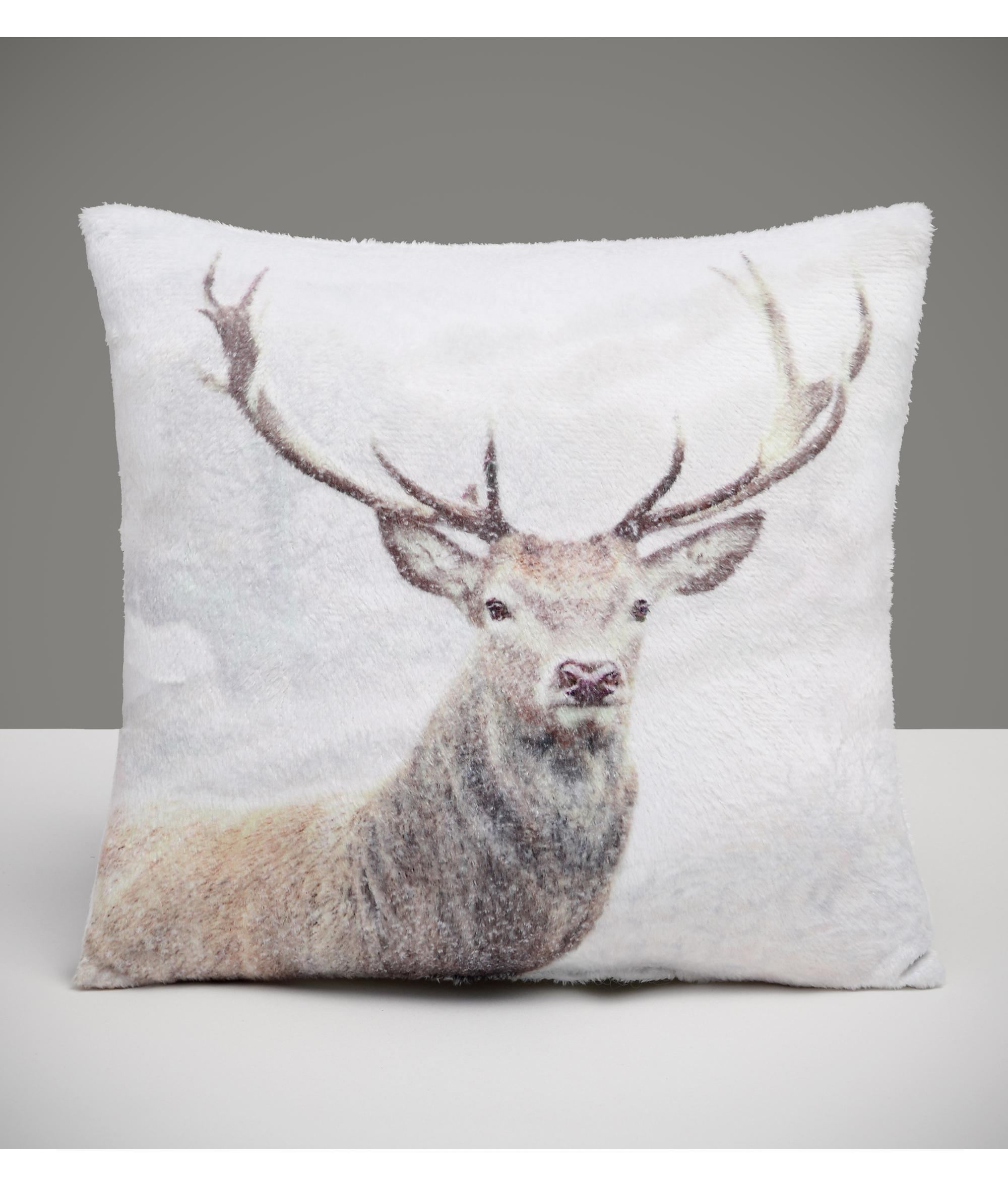 Stag Cushion Cancer Research Uk Online Shop