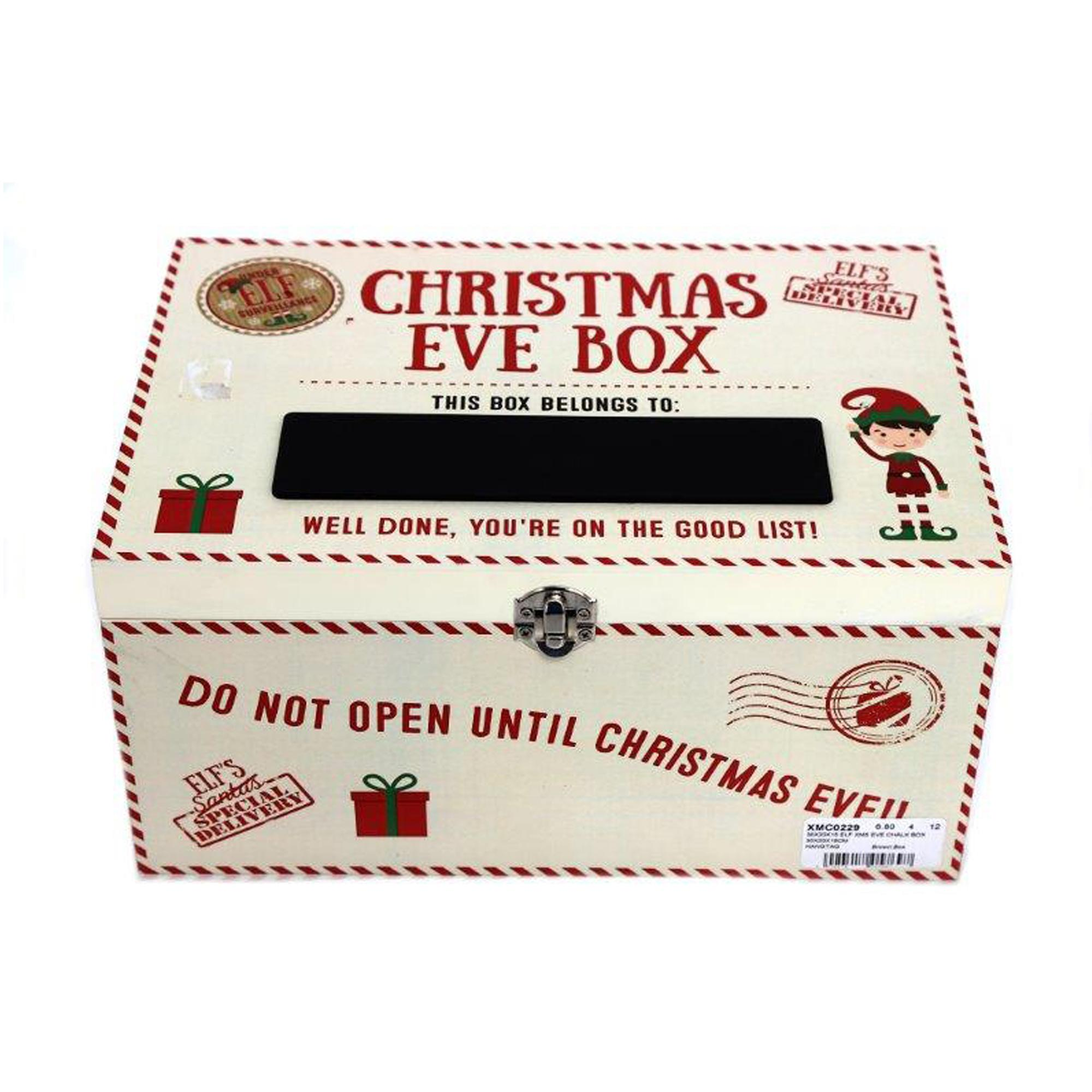 White Christmas Eve Chalk Box | Cancer Research UK Online Shop