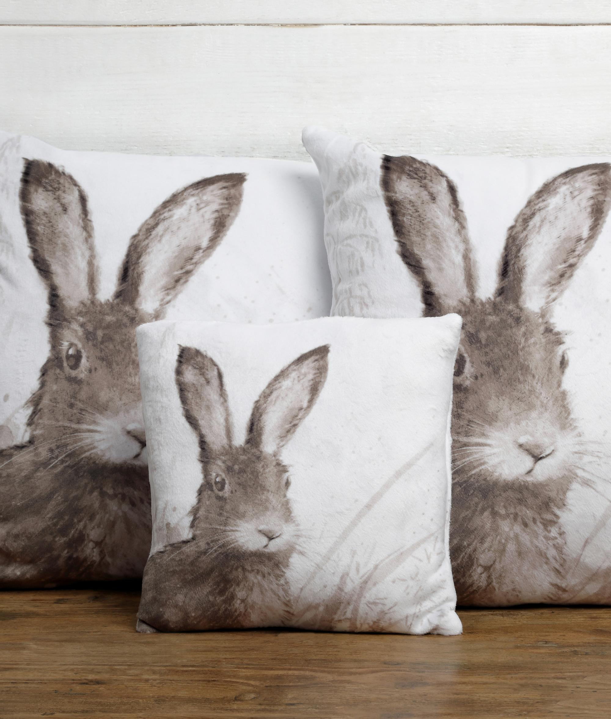 Hare Large Cushion Cancer Research Uk Online Shop