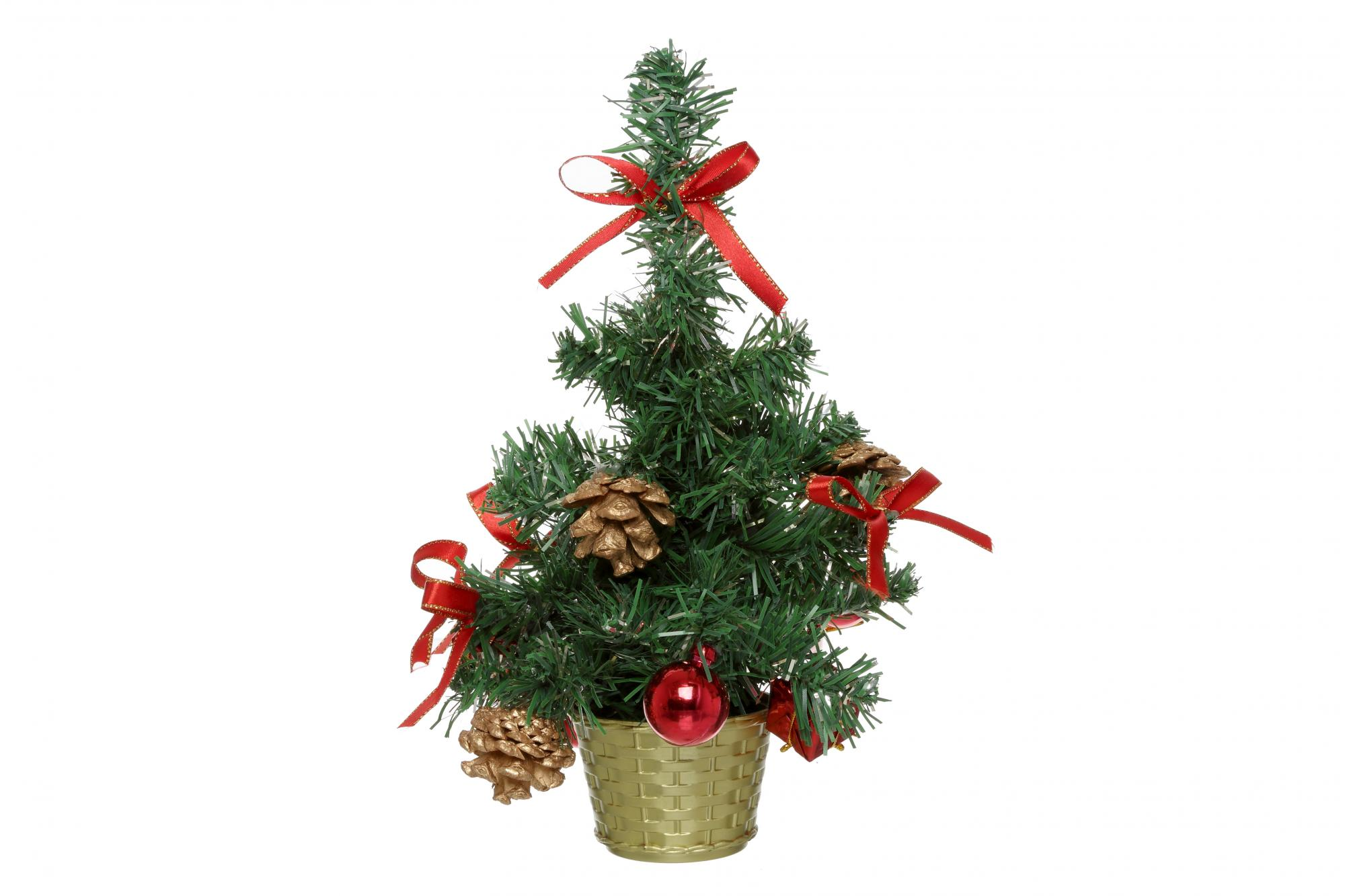 Red Decorated Tree | Cancer Research UK Online Shop