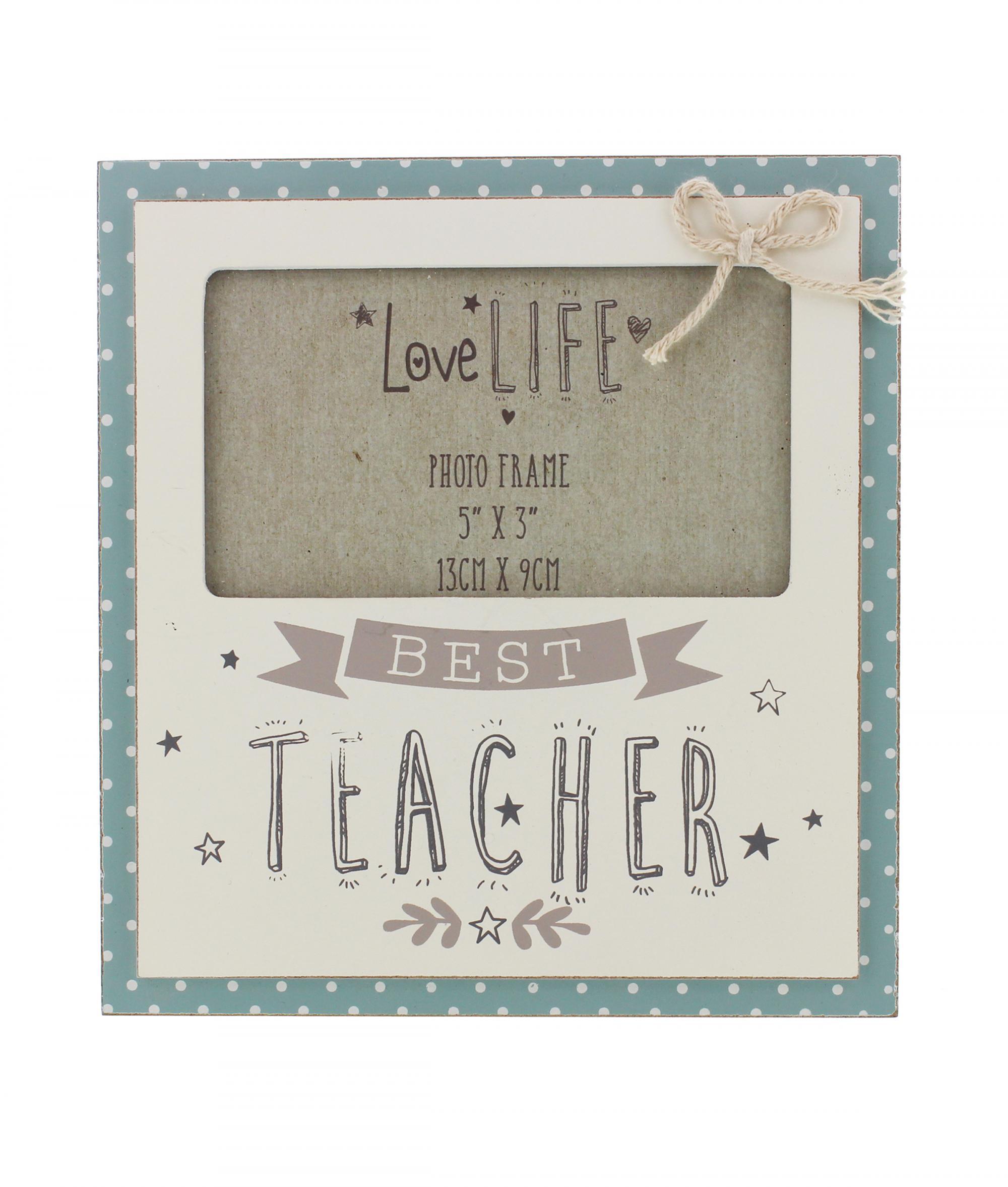 Best Teacher Photo Frame   Cancer Research UK Online Shop