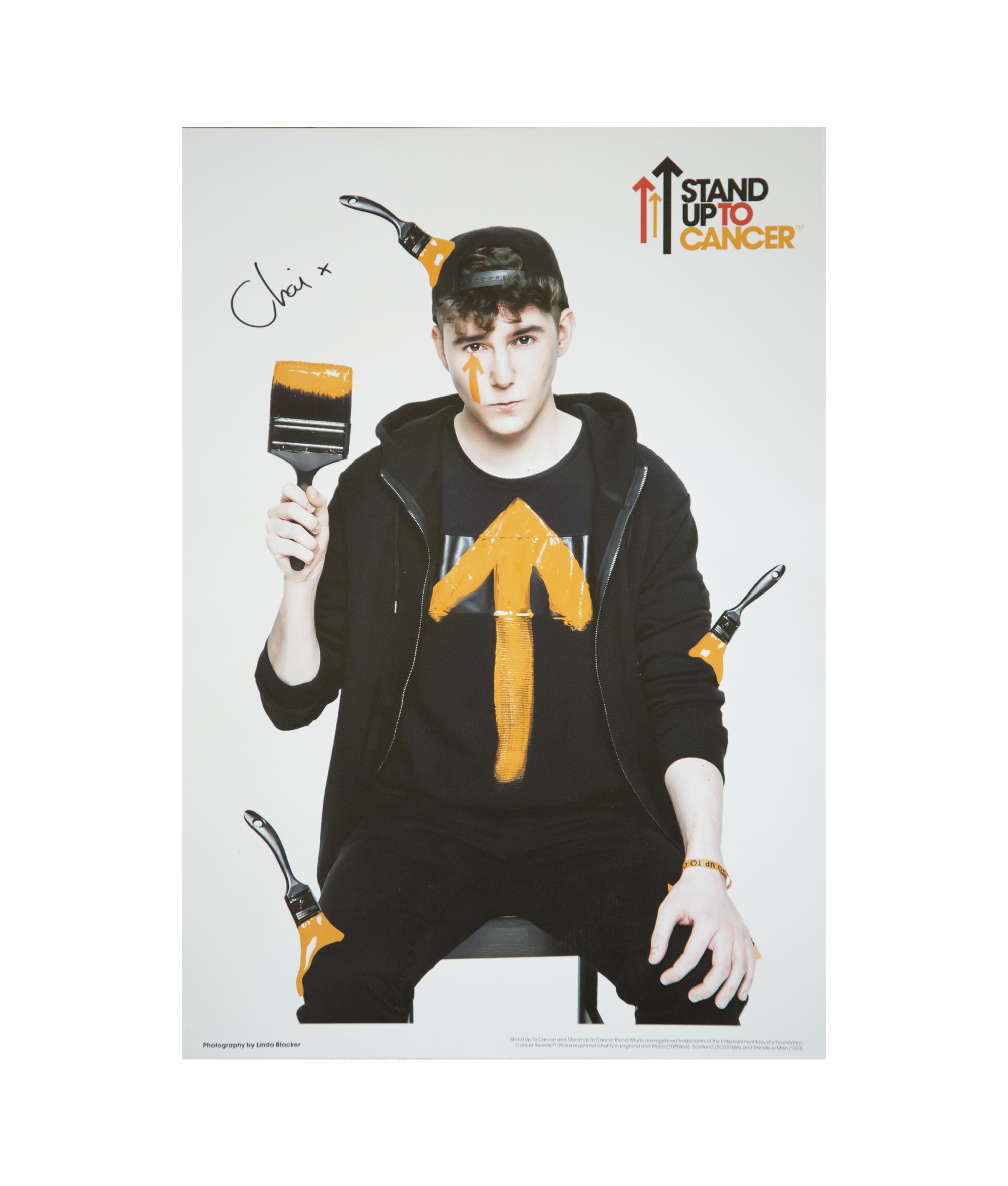 Poster design youtube - Su2c With Youtube Poster Chai Signed
