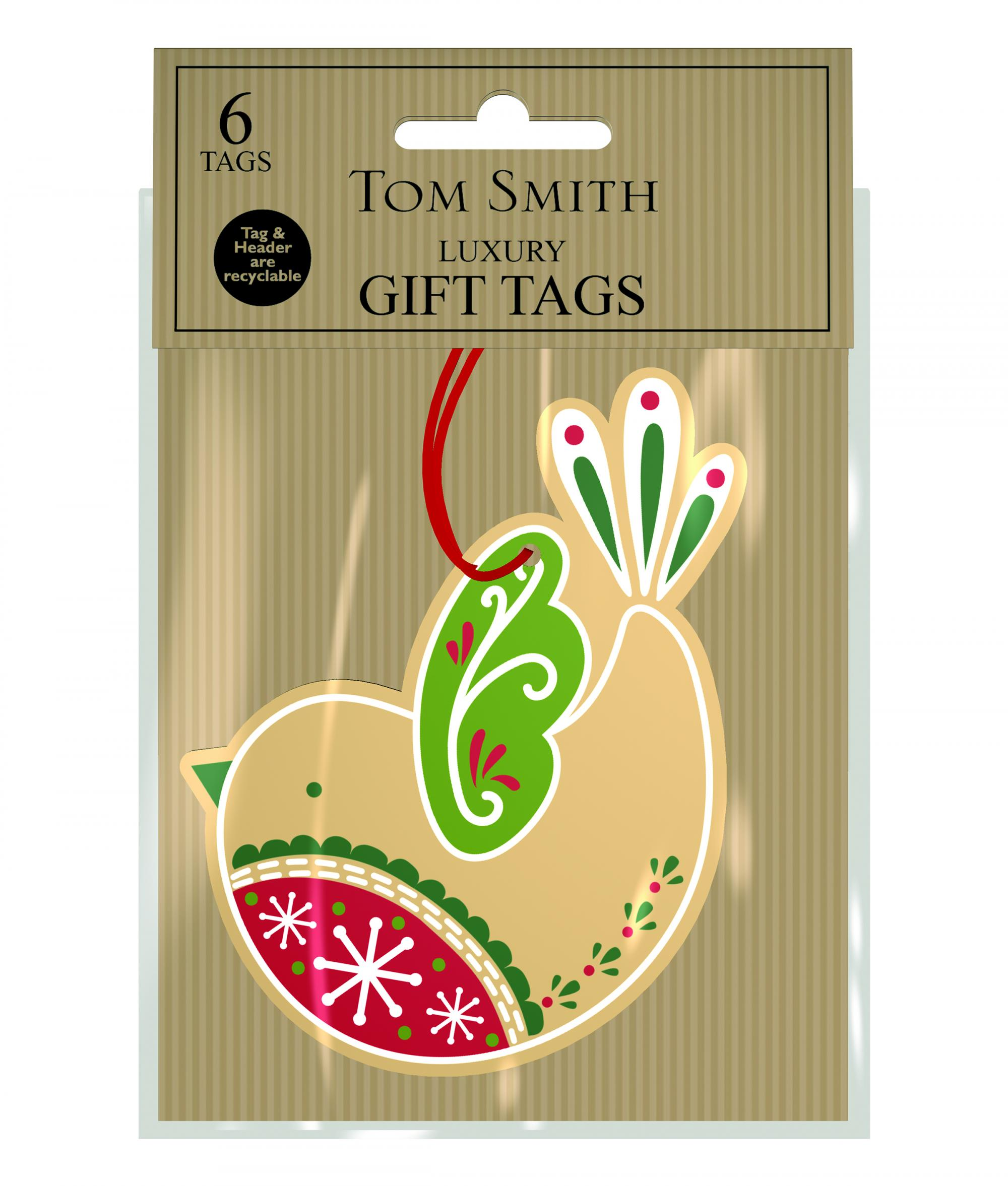 Kraft Christmas Gift Tags | Cancer Research UK Online Shop