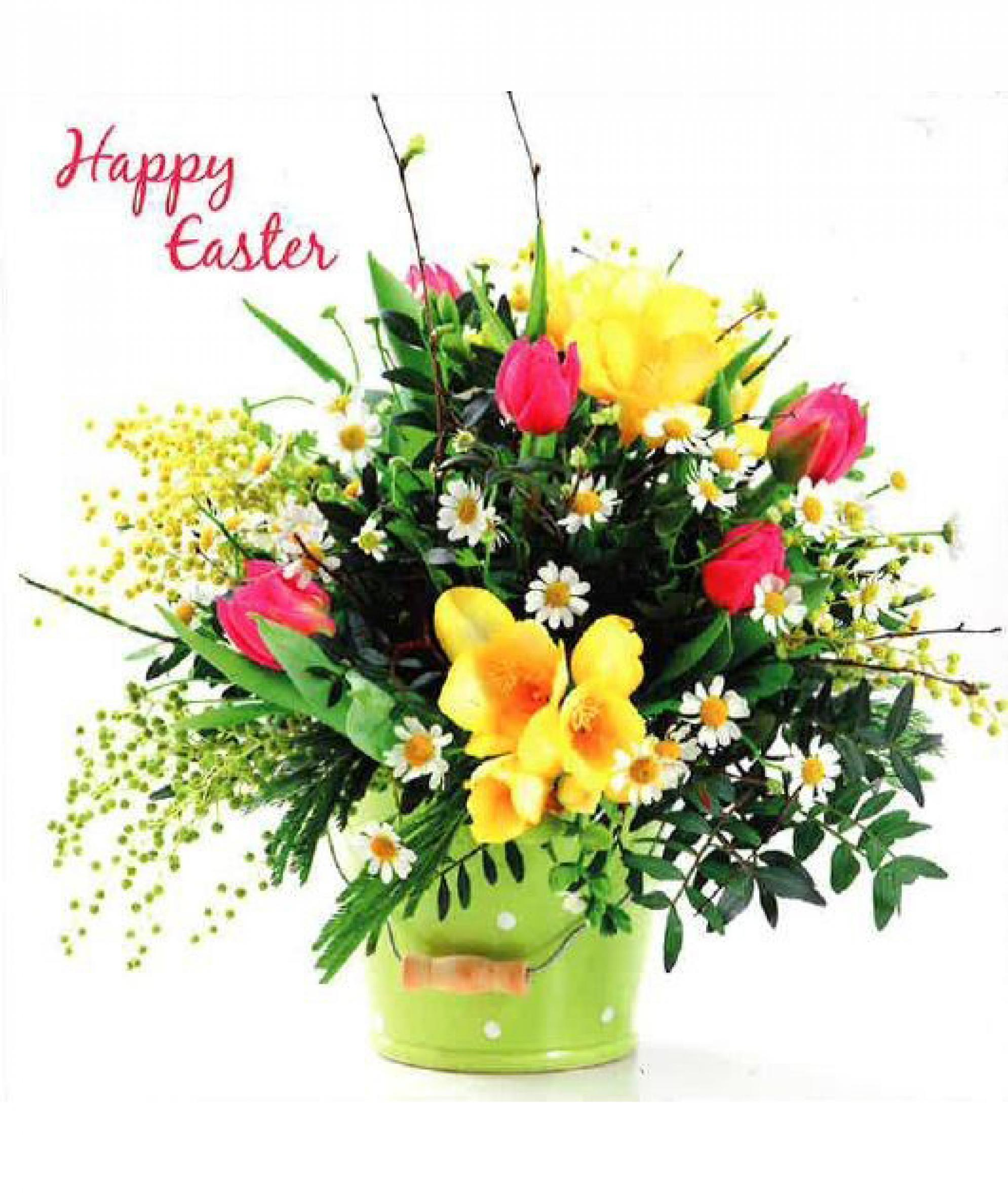 easter flowers easter cards  pack of 6