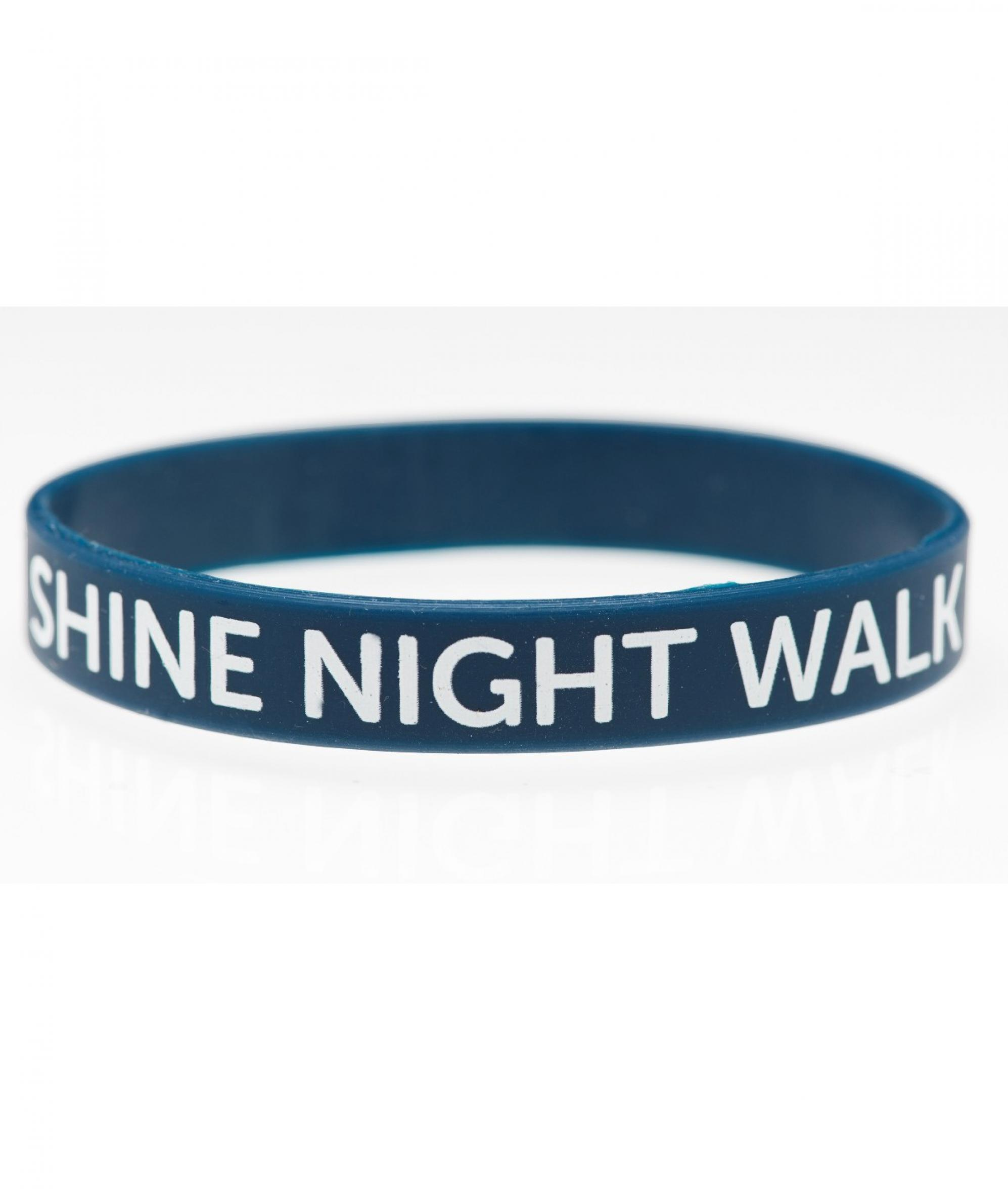 shine night walk wristband cancer research uk online shop. Black Bedroom Furniture Sets. Home Design Ideas
