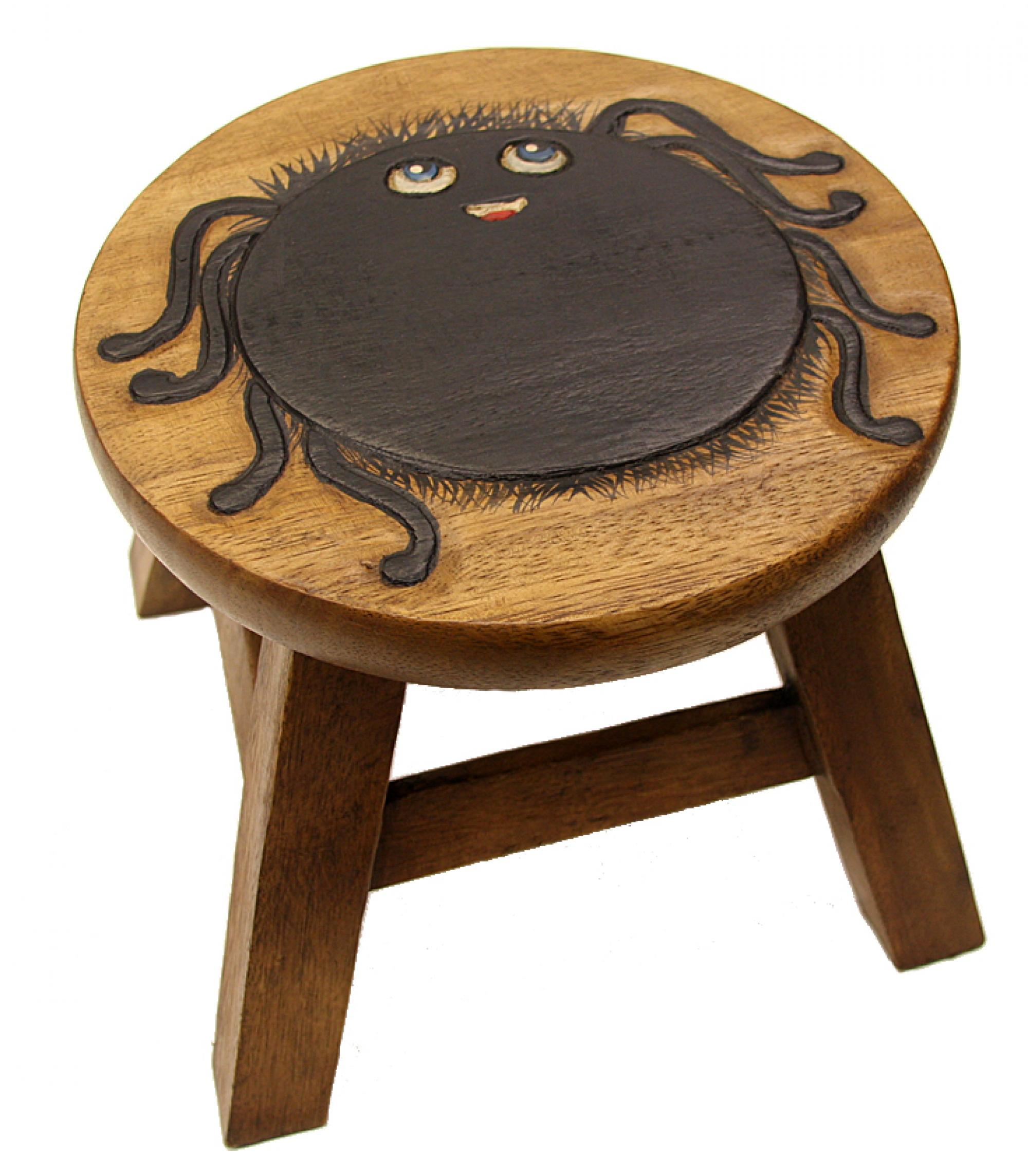 Kids wooden Stool Spider  sc 1 st  Cancer Research UK Online Shop & Kids wooden Stool Spider | Cancer Research UK Online Shop islam-shia.org