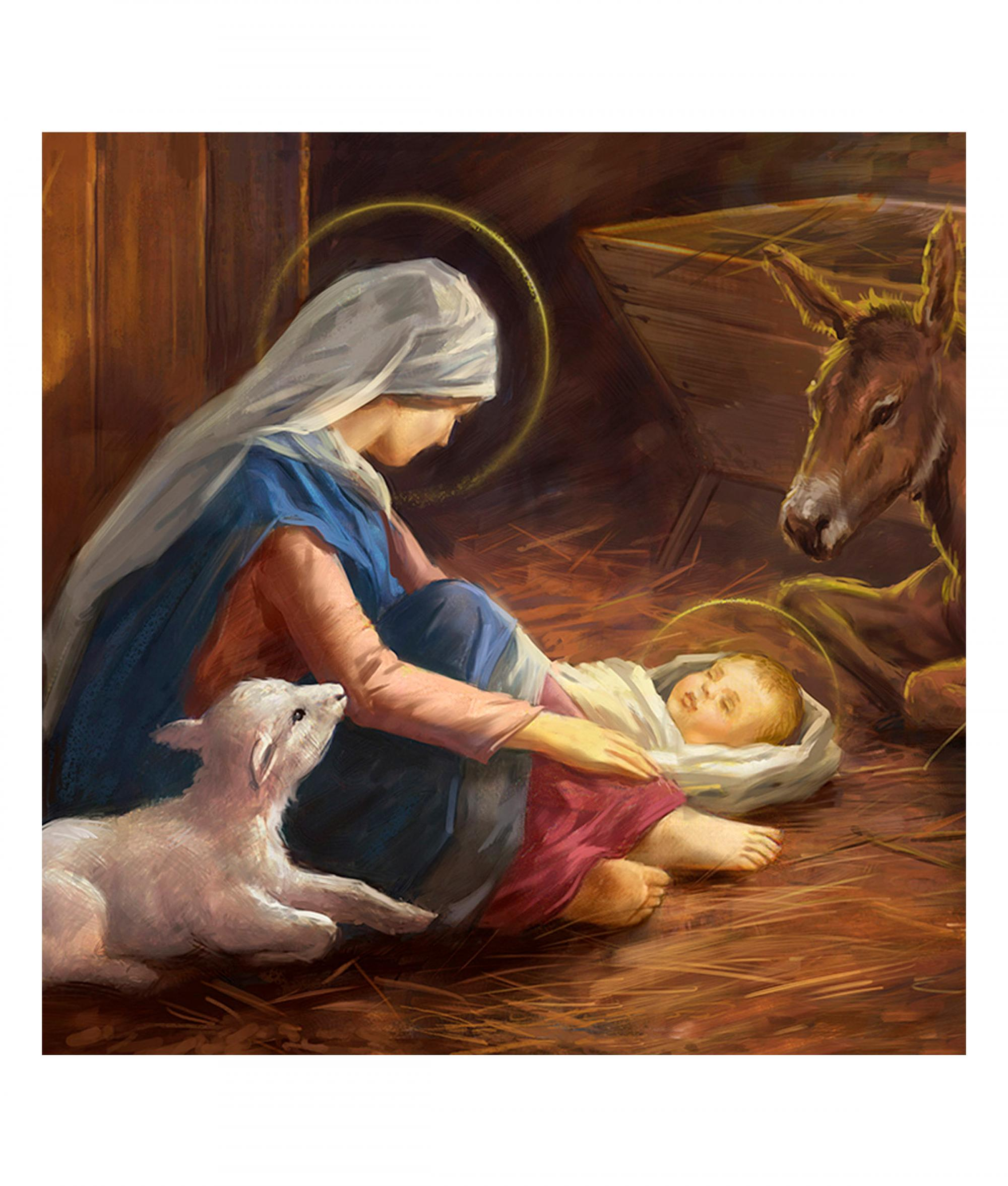 Mary and Child Christmas Card - Pack of 10 | Cancer Research UK ...