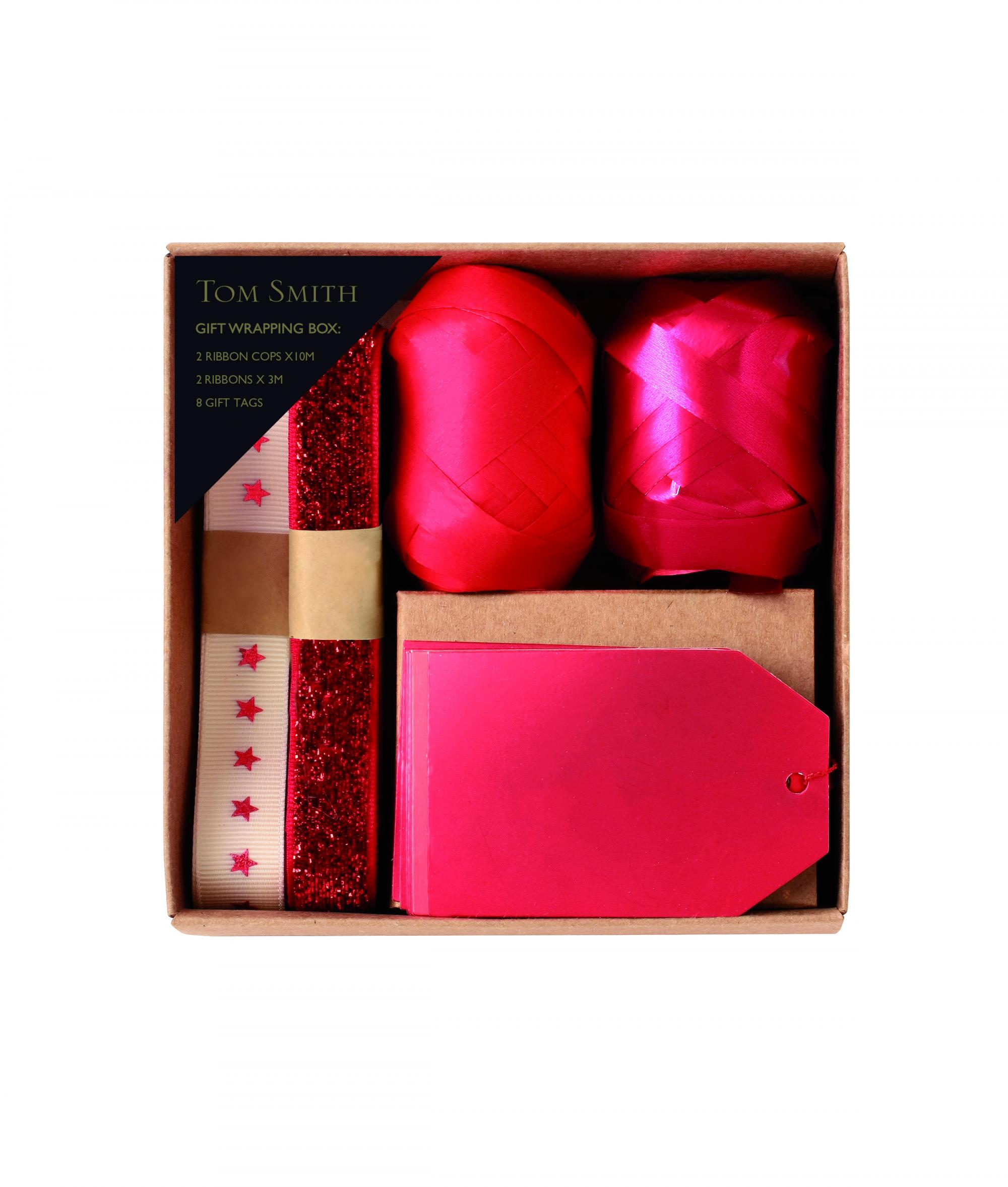 Luxury Christmas Gift Wrapping Accessory Pack - Red & Gold | Cancer ...