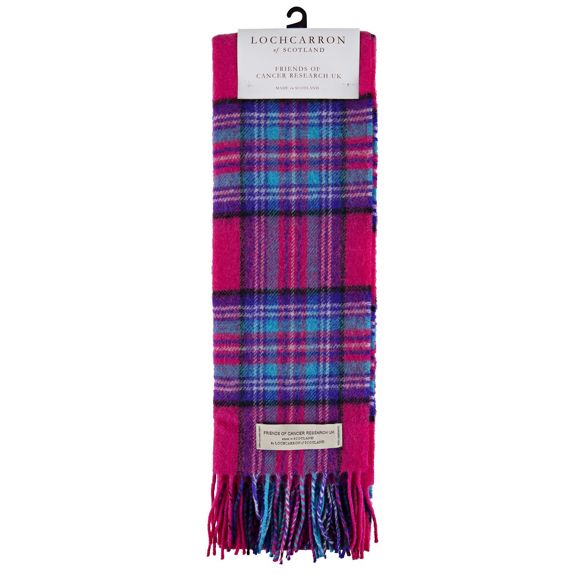 Cancer Research UK Tartan Scarf | Cancer Research UK Online Shop