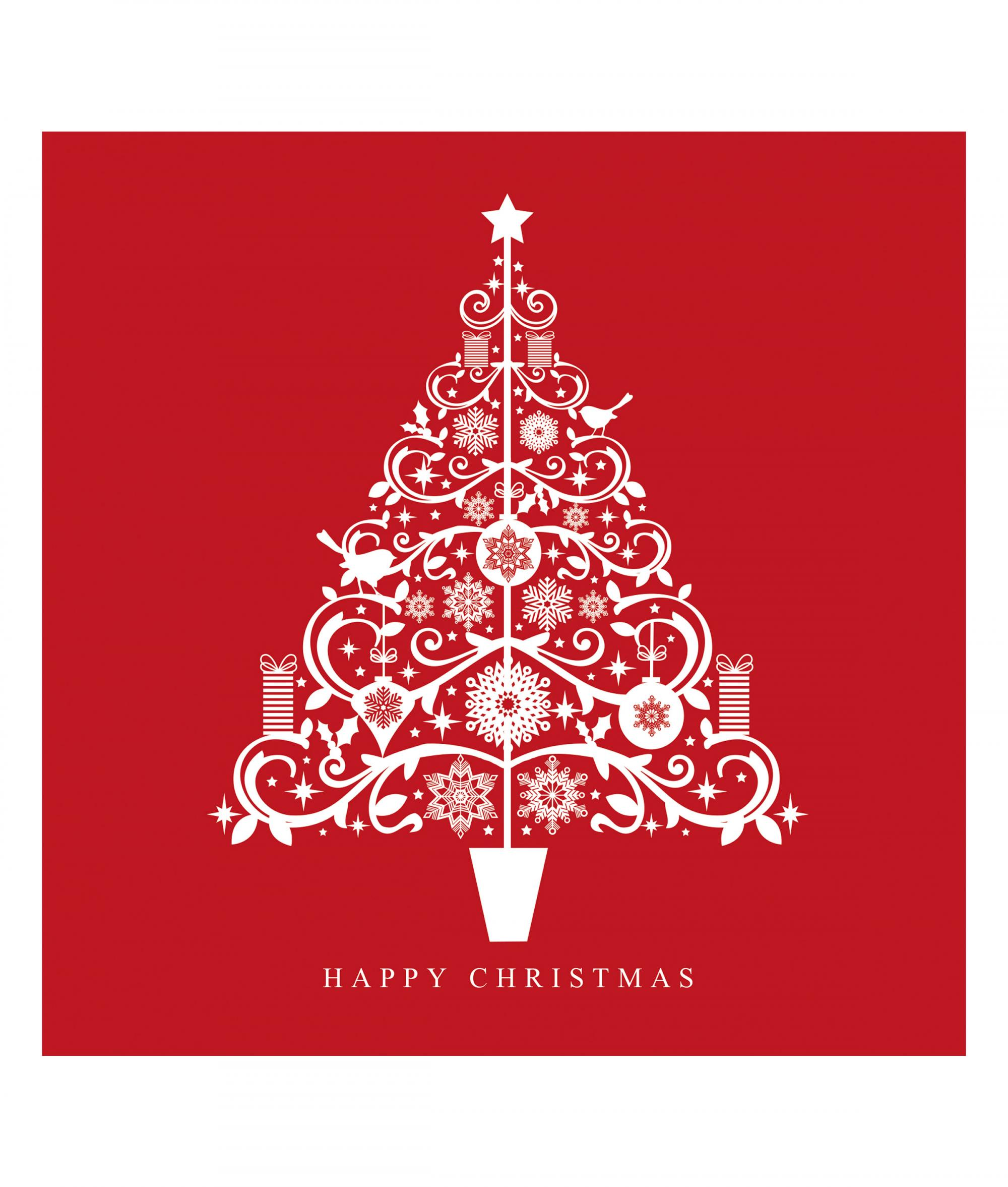 Photo Christmas Card Tiny Trees Christmas Card Pack Of 10 Cancer Research Uk Online