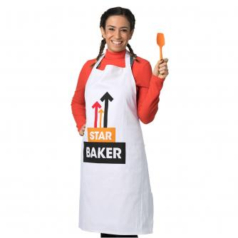 Star Baker White Apron