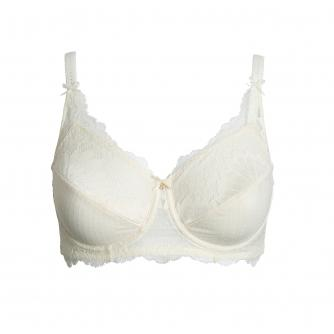 Amoena Aurelie Pocketed Underwired Bra in Off-White