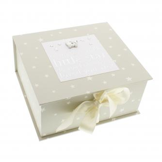 Twinkle Twinkle Keepsake Box, Baby Gift, Cancer Research UK