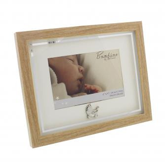 Wood Effect With Pram Frame, Baby Gift, Cancer Research UK