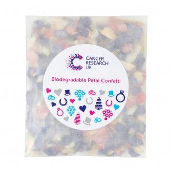 Biodegradable Dried Wildflower Petal Confetti