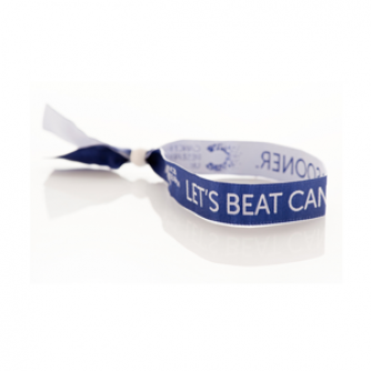 Blue Wristband, Cancer Research UK
