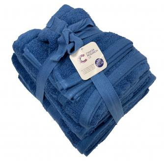 Cotton Bathroom Towel 6-Piece Bale Set