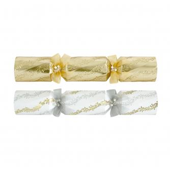 Tom Smith 6 Gold & Cream Luxury Christmas Crackers