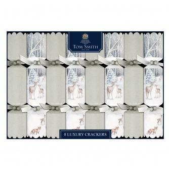 Tom Smith 8 Moonlight Forest Luxury Christmas Crackers