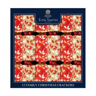 Tom Smith 12 Contemporary Foliage Family Christmas Crackers