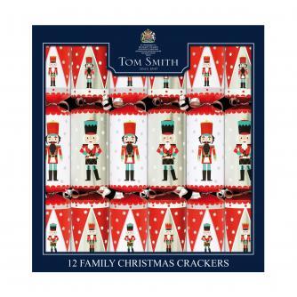 Tom Smith 12 Nutcracker Family Christmas Crackers