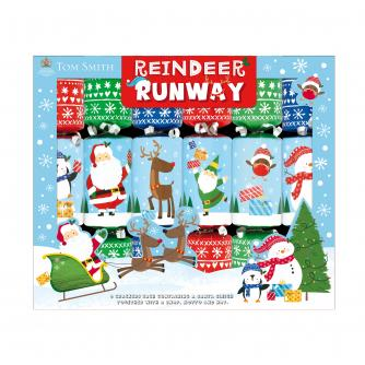 Tom Smith 6 Reindeer Runway Christmas Crackers
