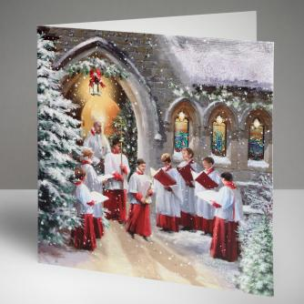 Christmas Service Cards, Pack of 10