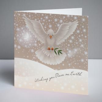 Dove of Peace Christmas Cards, Pack of 10