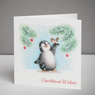 Perfect Pals Christmas Cards, Pack of 10