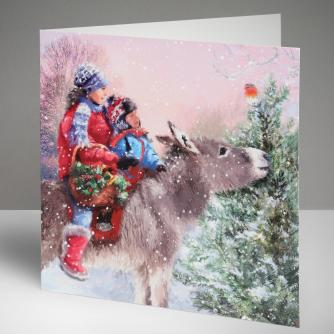 Winter Travels Christmas Cards, Pack of 10