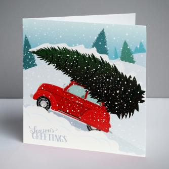 Terrific Tree Christmas Cards, Pack of 10