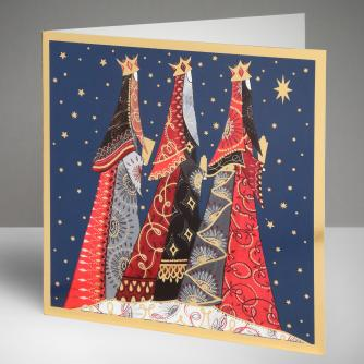 Three Wise Men Christmas Cards, Pack of 10