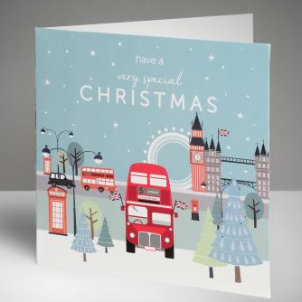Capital Christmas Cards, Pack of 10