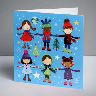 Children of the World Christmas Cards, Pack of 10