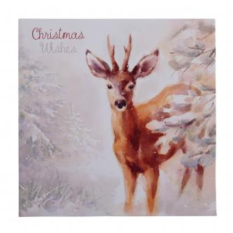 Delightful Deer Christmas Cards - Pack of  10