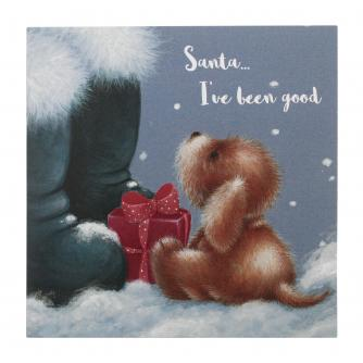 Naughty Or Nice Christmas Cards - Pack of 10