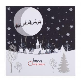 Winter Hamlet Christmas Cards - Pack of 20