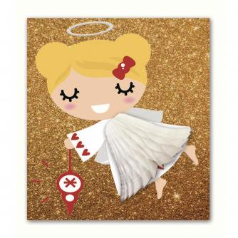 Pulp Pop Up Fairy Christmas Card