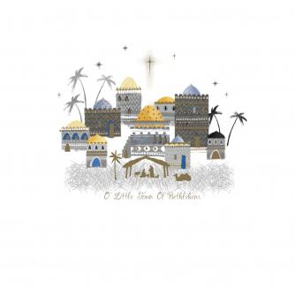 Bethlehem Scene Christmas Cards - Pack of 10