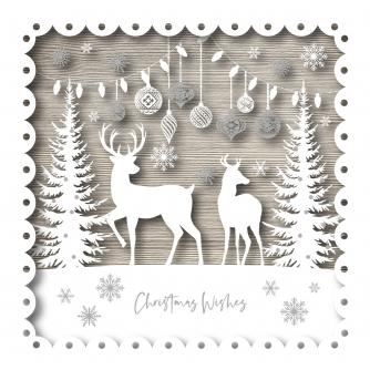 Christmas Deer Christmas Cards - Pack of 10 or 20