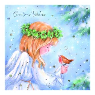 Christmas Messenger Christmas Cards - Pack of 10